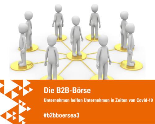 B2B-Börse in Coronazeiten: Unternehmen helfen Unternehmen und Gründern