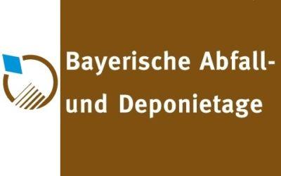 22. Bayerische Abfall- und Deponietage 23./24.06.2021