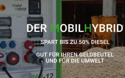 Mobile Stromspeicher statt Dieselaggregat