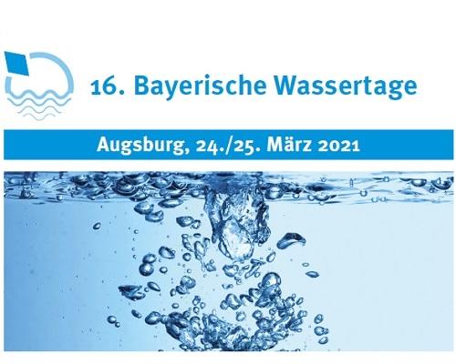16. Bayerische Wassertage