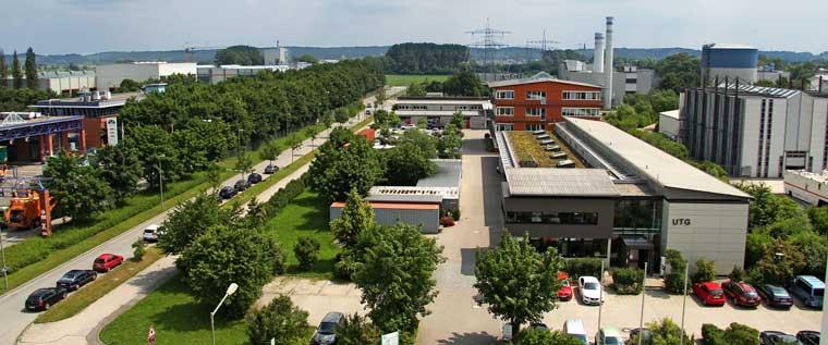 Gebäude UTG - Büros, Labors und Werkstätten in Augsburg